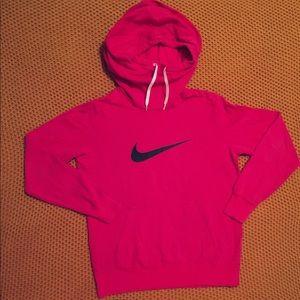 Large Pink Nike Hoodie